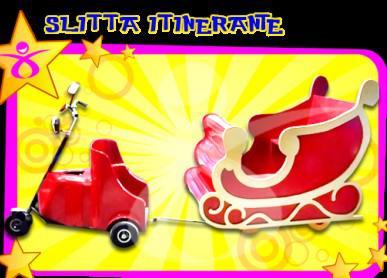 Slitta Elettrica Di Babbo Natale
